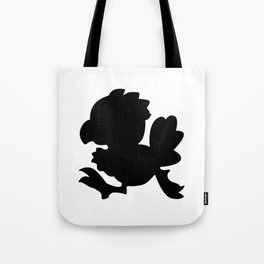 Baby Chocobo Black Tote Bag