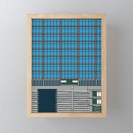 Torre Capriles -Detail- Framed Mini Art Print