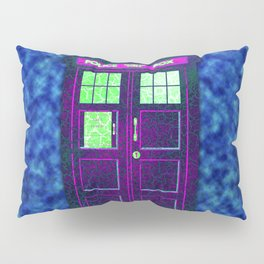 Tardis With Abstract Pillow Sham