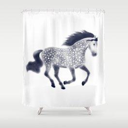 Dapple horse Shower Curtain