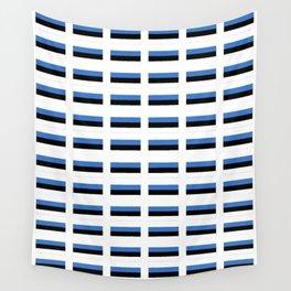 Flag of estonia -estonian,baltic,tallinn,tartu,eesti,balti,slav,viking,baltico,parnu Wall Tapestry
