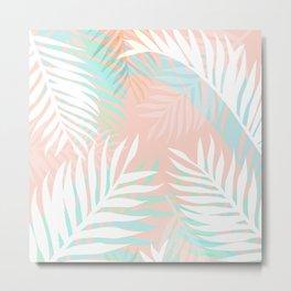 Tropical bliss - palm springs Metal Print