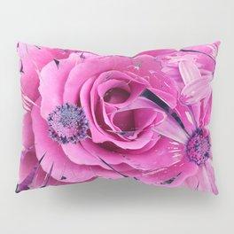 504 - Abstract Flower Design Pillow Sham