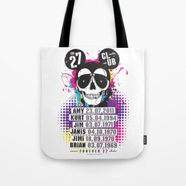 The 27 Club - Mouse Skull - Print Tote Bag