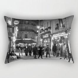 Latin Quarter, Paris Rectangular Pillow