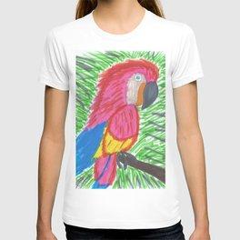 Pink Bird of Paradise T-shirt