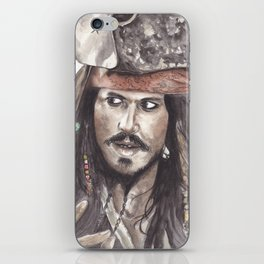 Black Pearl's Capt. Jack Sparrow iPhone Skin