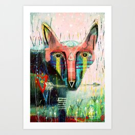 She Who Protects The Land Art Print