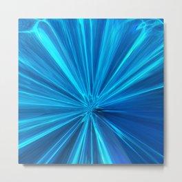 424 - Abstract Water Design Metal Print