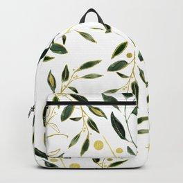 Goldy Green Backpack