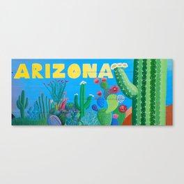 Arizona Cactus Wonderland Canvas Print
