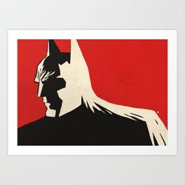 Bat Noir Art Print