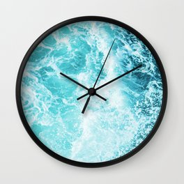 Perfect Sea Waves Wall Clock