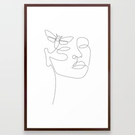 Give Me Wings Framed Art Print