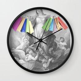Shopping Bliss Wall Clock