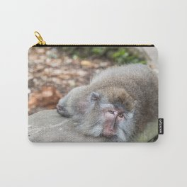 Crab-eating Macaque VI (Balinese Monkey) Carry-All Pouch