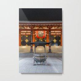 Senso-ji Metal Print