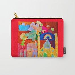 Rainbow Angel Carry-All Pouch