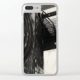 Conflicting ways Clear iPhone Case
