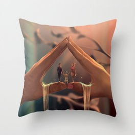 A new journey Throw Pillow