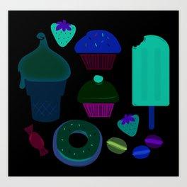 Fancy treats for all! Art Print
