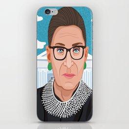 Ruth Bader Ginsburg Notorious RBG iPhone Skin