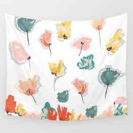 Wild Beauty Saffron Wall Tapestry