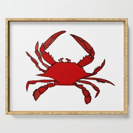 Getting Crabby Serving Tray