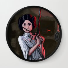Leia Wall Clock