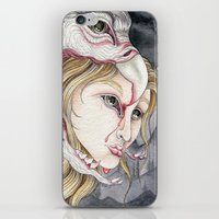 three of the possessed iPhone & iPod Skins featuring Possessed  by Bonnie Johnson