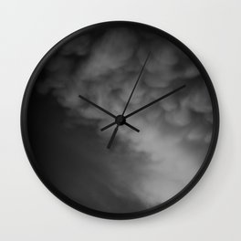 Coulds of Smoke Wall Clock