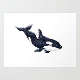 Cosmic Orca Art Print