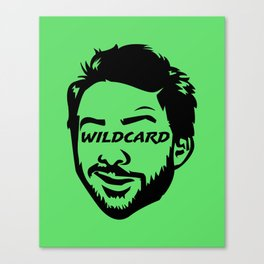 Wildcard Charlie Canvas Print