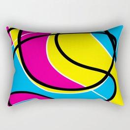 Childlike Waves Rectangular Pillow