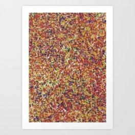 Abstract Scenery Art Print