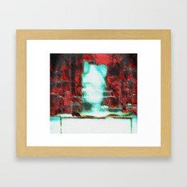 GOD LAMB OF A PSYCHIC ORIGIN Framed Art Print