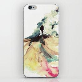 Rainbow dress iPhone Skin