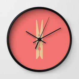 #72 Peg Wall Clock