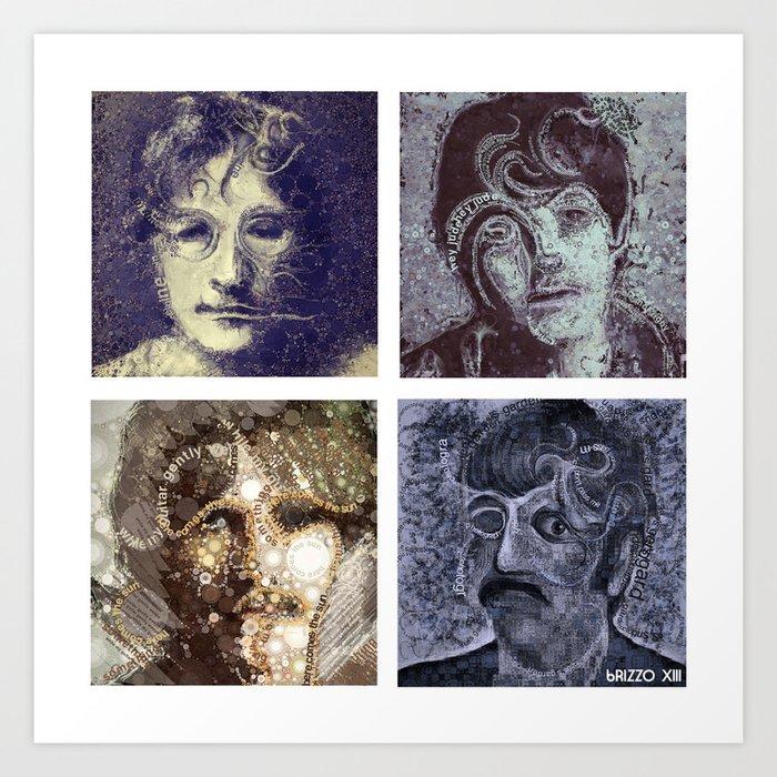 those four liverpool Art Print