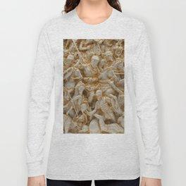 Marble Battle Long Sleeve T-shirt
