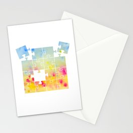 Jigsaw Stationery Cards