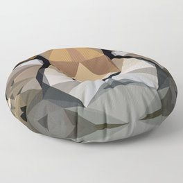 Low Poly Cheetah Floor Pillow