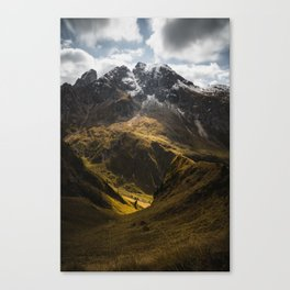 Belle Dolomiti - Light and Shadow Canvas Print