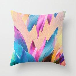 Unicorn Plants Throw Pillow