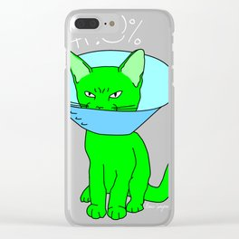 """Heckin Angry Lampshade"", by Brock Springstead Clear iPhone Case"