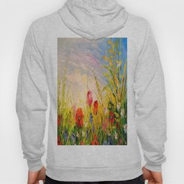 Field and flowers Hoody