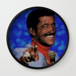Sammy Davis, Jr. Wall Clock