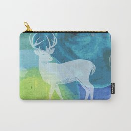 Deer in Blue Waters Carry-All Pouch