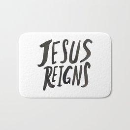 Jesus Reigns Bath Mat