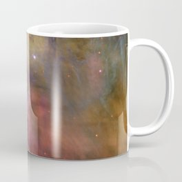 Cosmic clouds and stellar winds (LL Orionis and Orion Nebula flow) (NASA/ESA Hubble Space Telescope) Coffee Mug